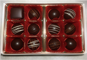 24 Piece Spirited and Non- Spirited Assorted Chocolate Box