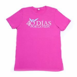 40 Days For Life Unisex T-Shirt SPANISH (9904695371)