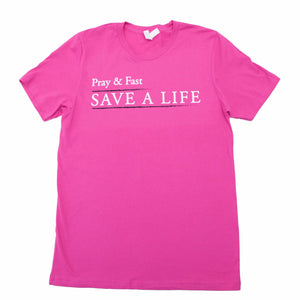 Save A Life Unisex T-Shirt (9904695307)