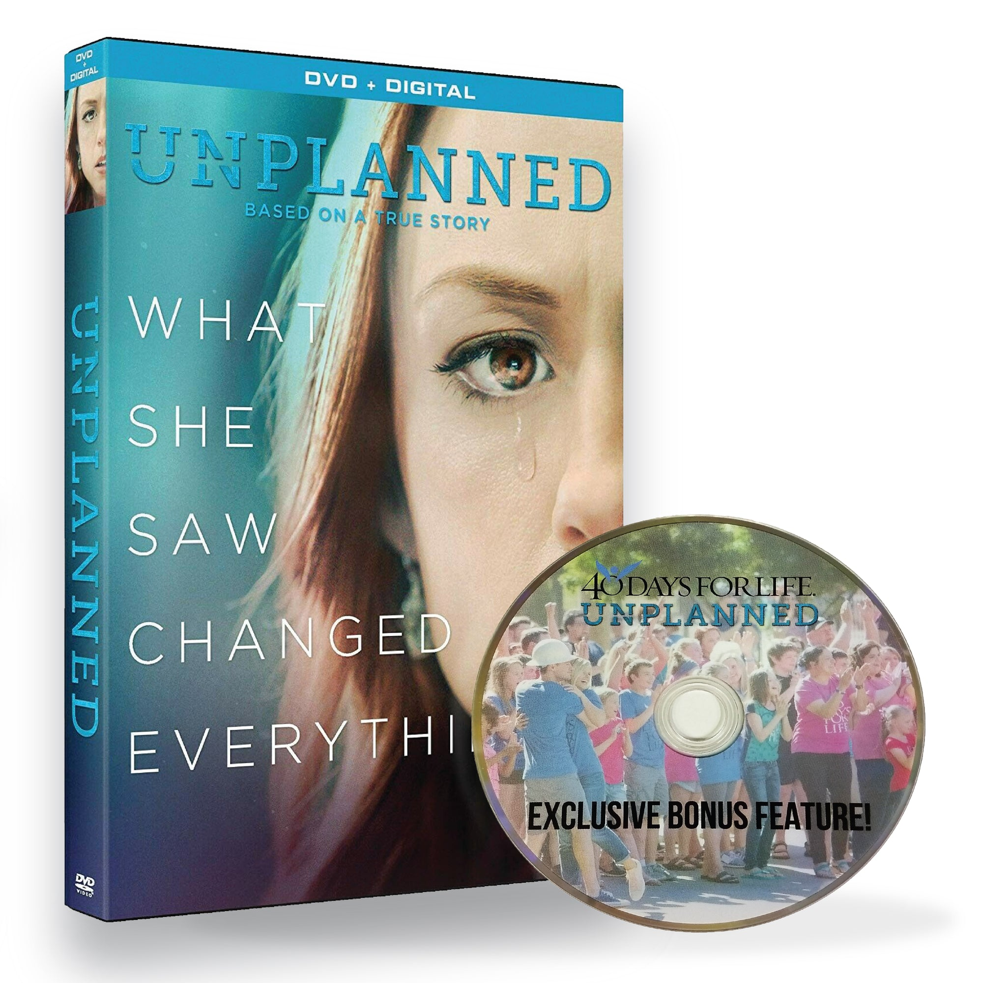 Unplanned with Bonus DVD (4595967492182)