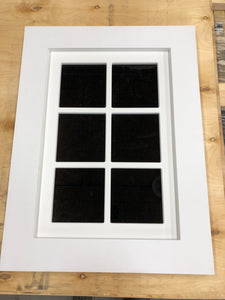 Decorative FAUX windows vs Decorative FAKE windows...