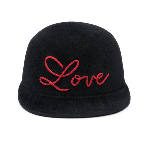 Bo 'Love' Wool Felt Cap - Eugenia Kim