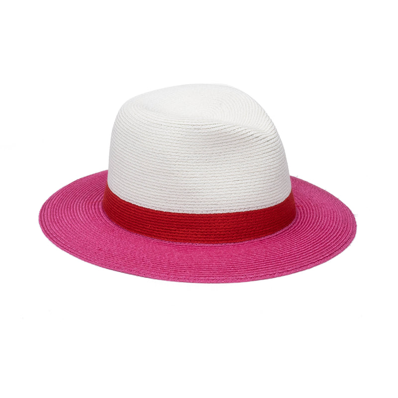Lillian in Ivory/Red/Fuchsia