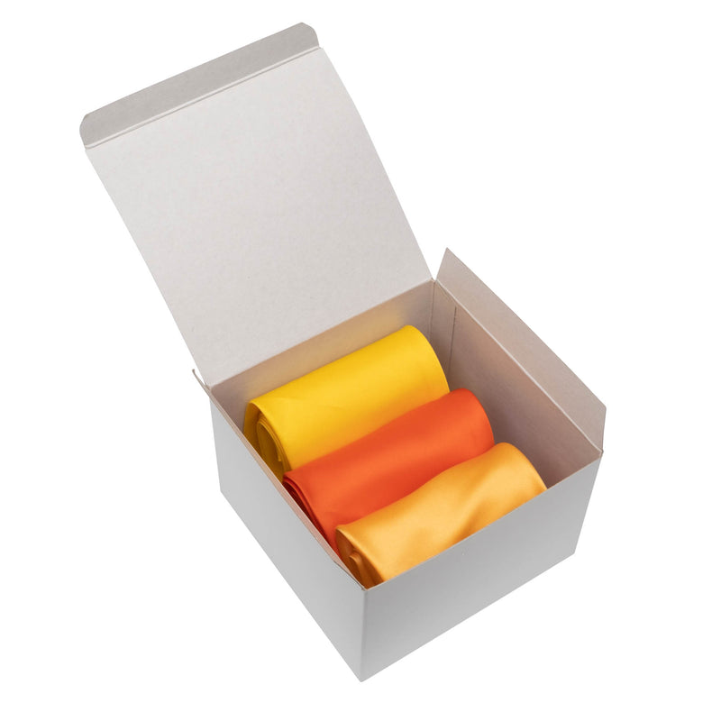 3-Pack Scarf Set (Yellow/Marigold/Orange)