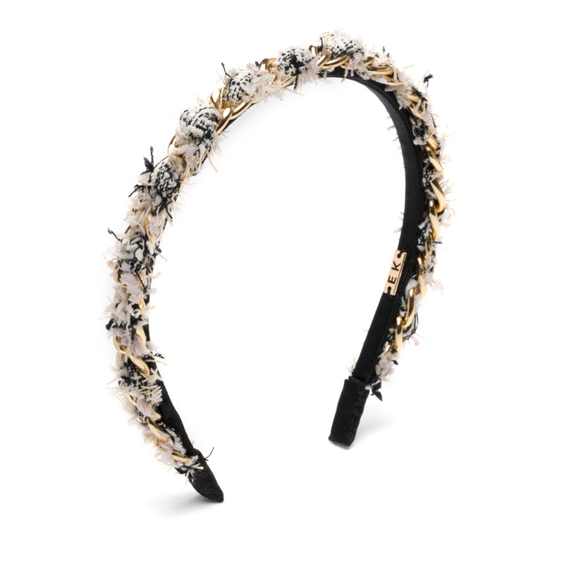 Alice headband in Ivory/Multi