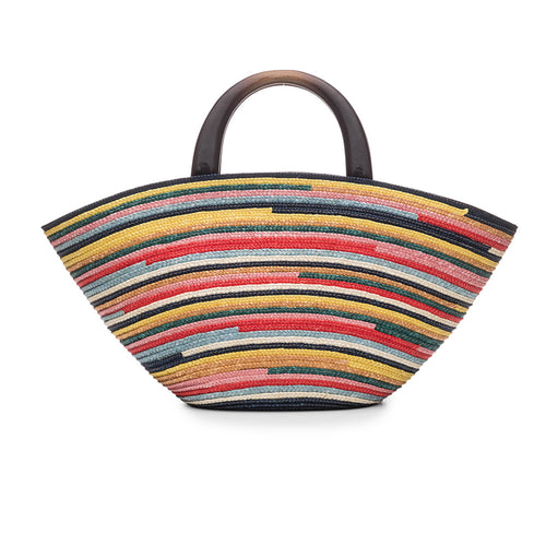 Carlotta in Multi-Color Stripe - Eugenia Kim