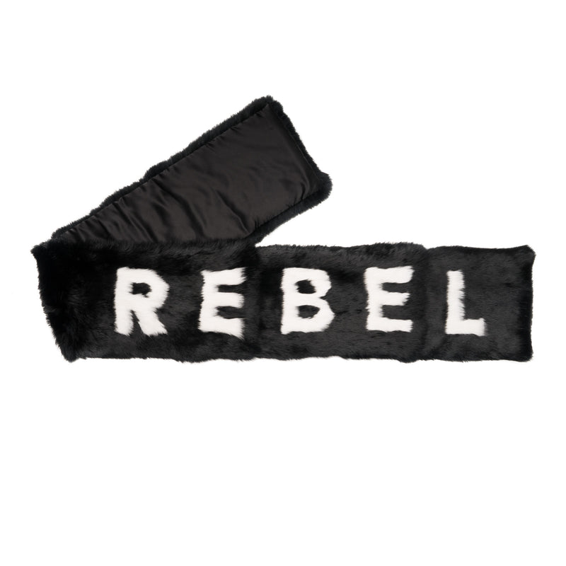 "COLDEN ""REBEL"" RABBIT FUR SCARF"