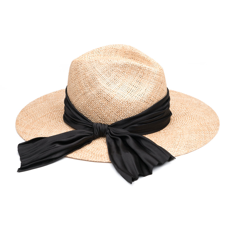 EMMANUELLE STRAW HAT WITH BOW - Eugenia Kim
