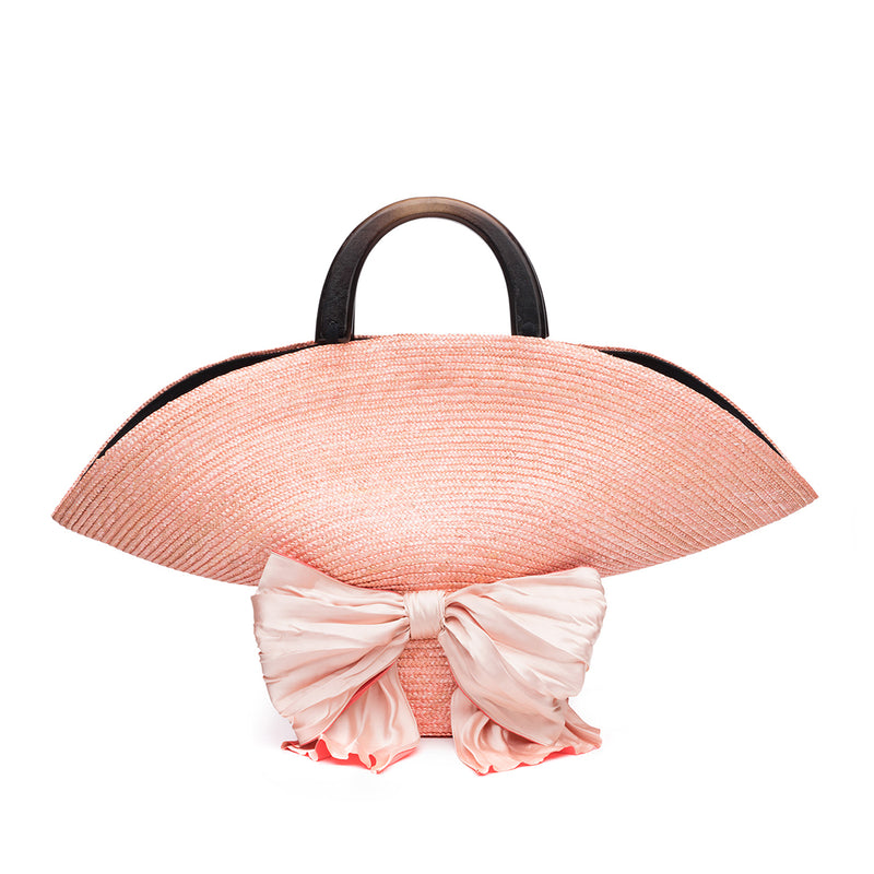 Flavia Bag in Peach - Eugenia Kim