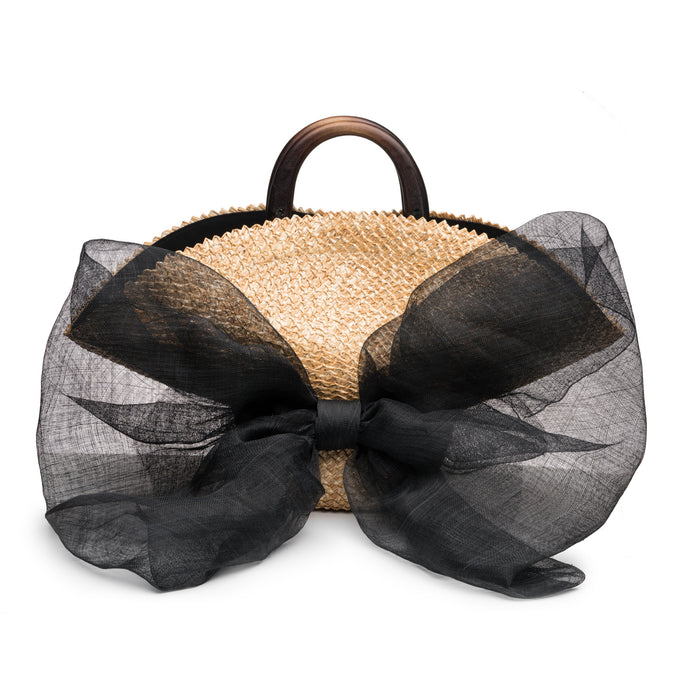 Flavia Bag with Oversized Bow - Eugenia Kim