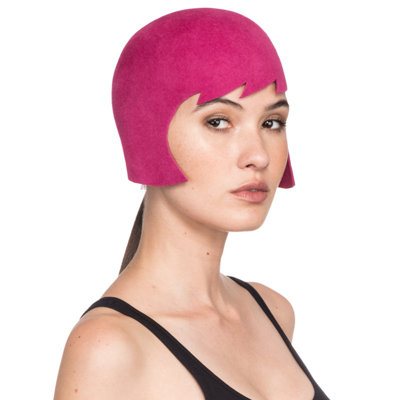 Bibbe Haircut Hat in Pink - Eugenia Kim