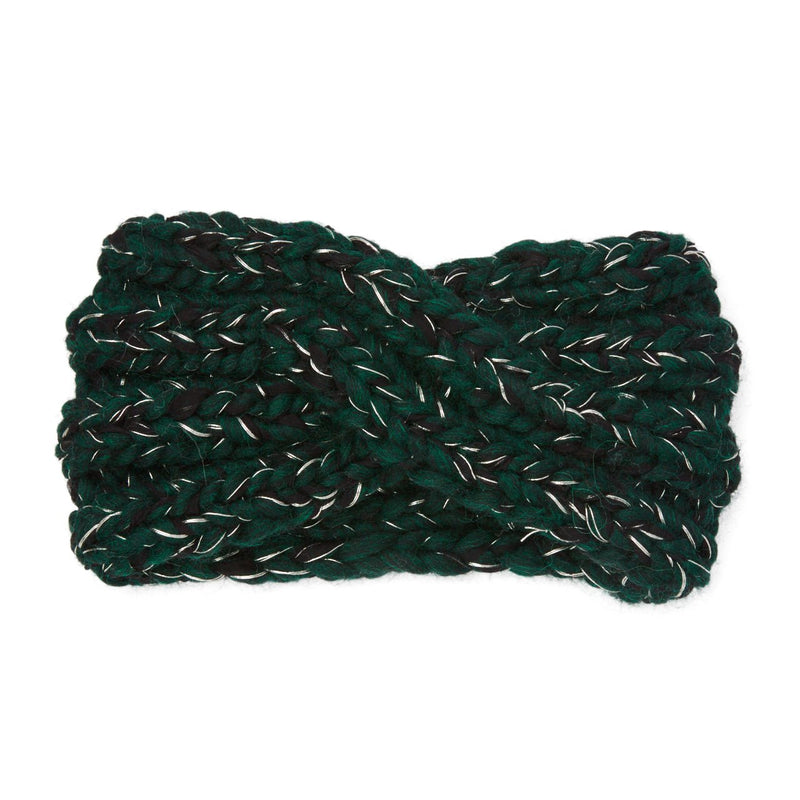 Eugenia Kim chunky knit wool Lula headband in Hunter