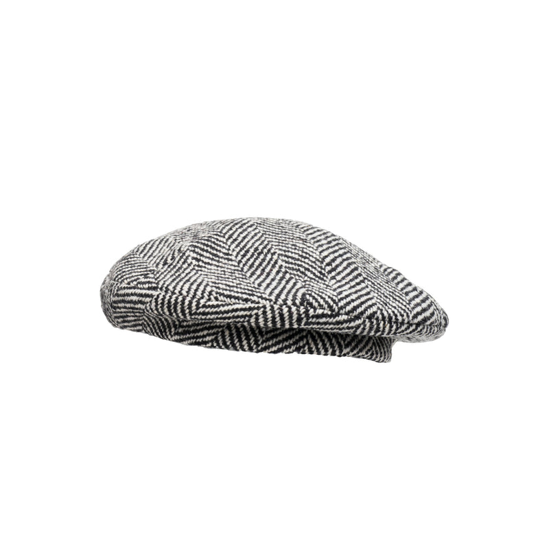 Mishka Black/Cream Beret