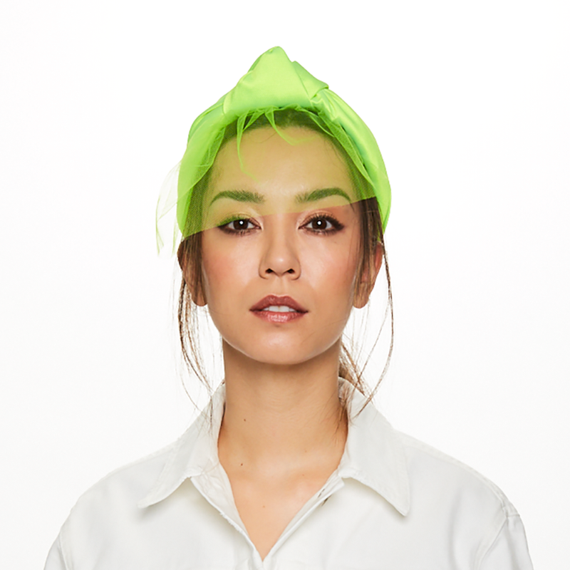 Maryn in Neon Green - Eugenia Kim
