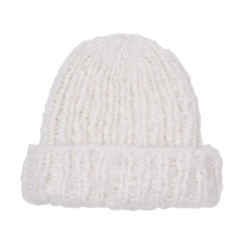 Eugenia Kim brushed cashmere Shannon knit beanie in Winter White