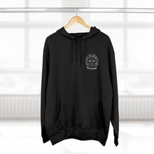 """Stay Spooky"" Midnight Familiar Black Cat Unisex Premium Pullover Hoodie"
