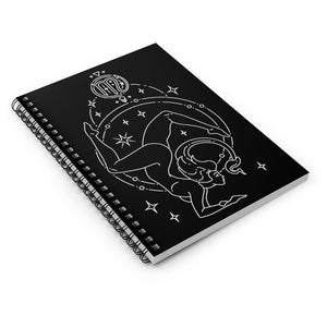 """Strength"" Scorpio Goddess Spiral Notebook - Ruled Line"