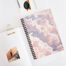 Pastel Aesthetic Cloud Spiral Notebook - Ruled Line
