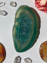 """Regal"" Leo Zodiac Agate Slices - Oblong"