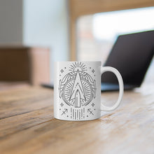 "Sagittarius Arrow Zodiac Astrology ""Intent""  Mug 11oz"