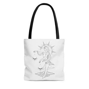"""Grace"" Libra Goddess Tote Bag"