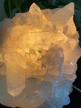 Smokey, Rose and Clear Quartz Lamps