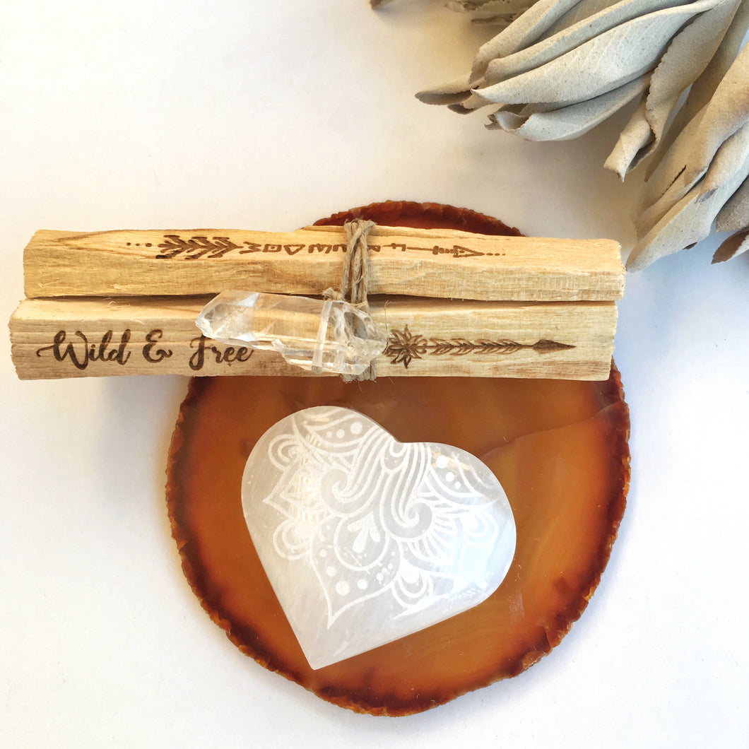 """Follow Your Heart"" Gift Set"