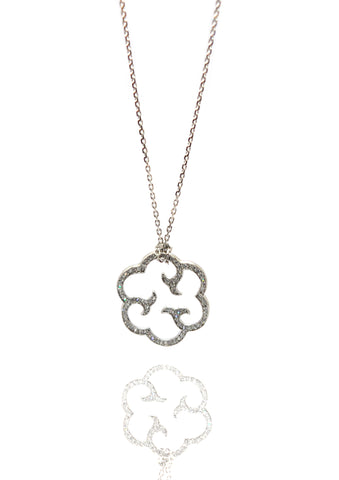 CLOUD SCULPTURE NECKLACE | GOLD