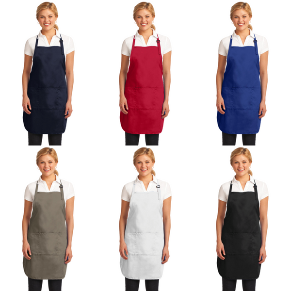 Personalized this Easy Care Full Length Apron with Stain Release