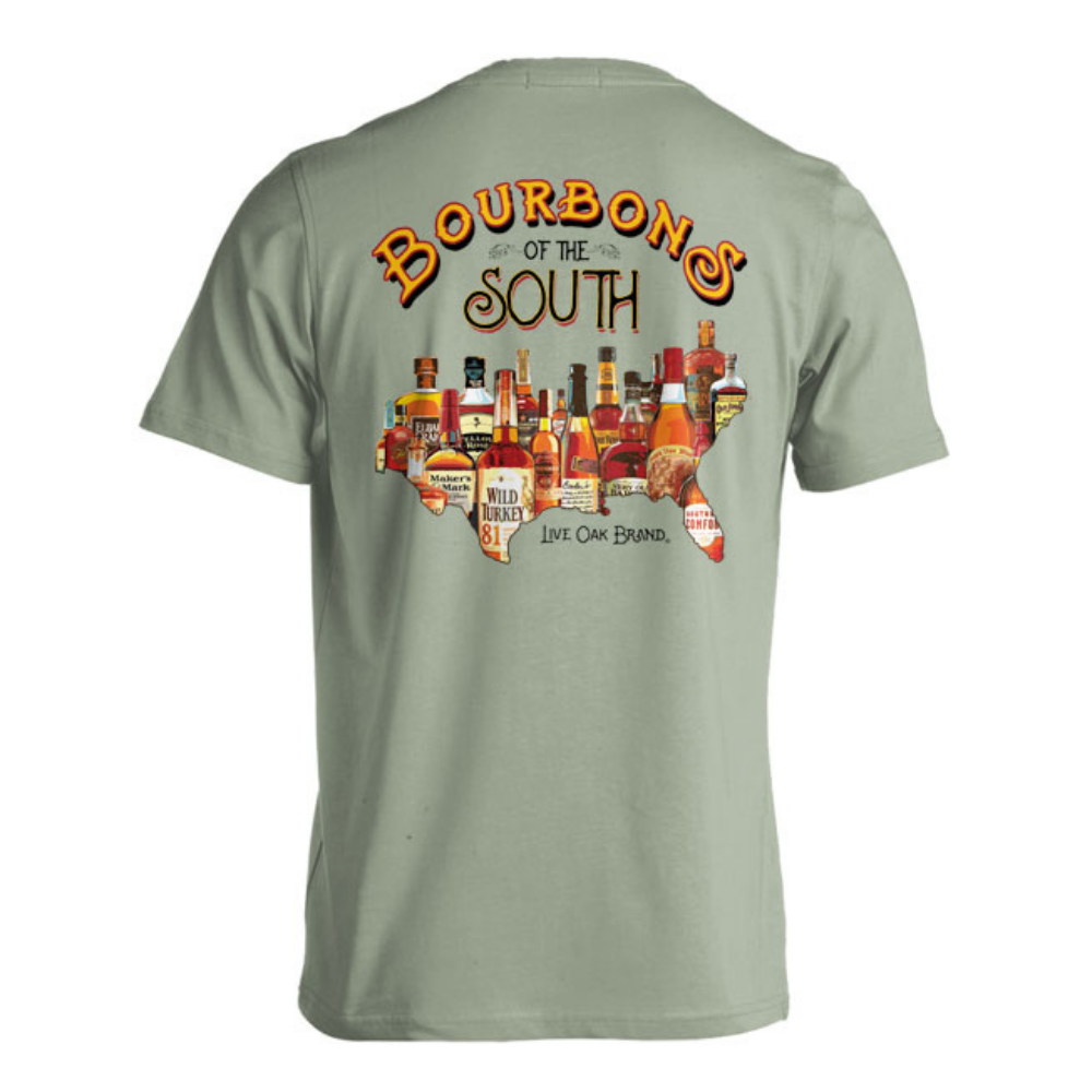 bourbons of the south tee