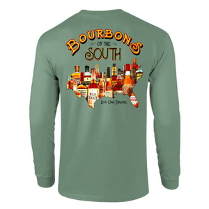 long sleeve, bourbons of the south