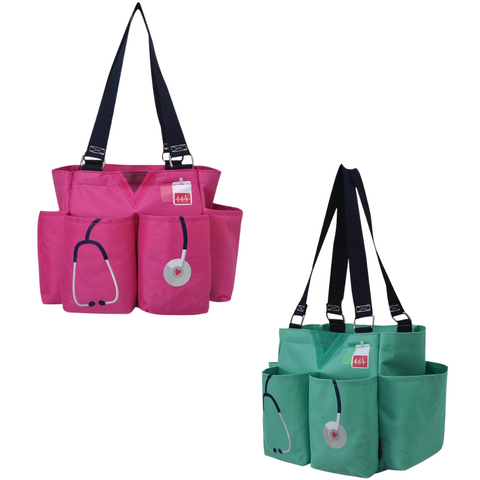 nurse caddy utility tote