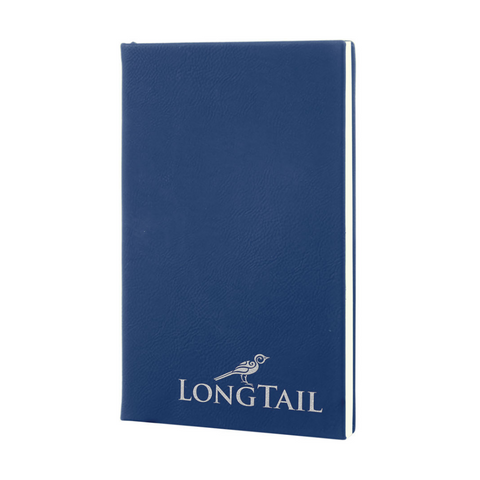blue journal, journal notepad