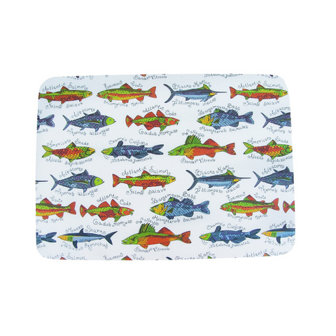 Fish-a-licious Set of 4 Placemats