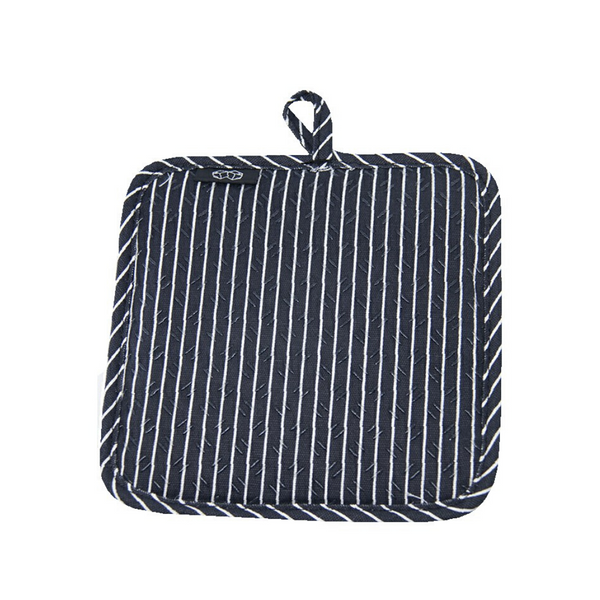 Pinstripe Silicone Pot Holder