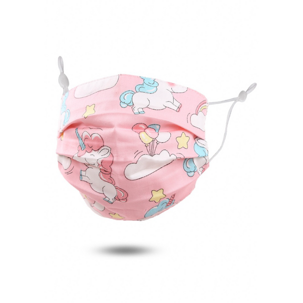 Pink Unicorn Kids Mask