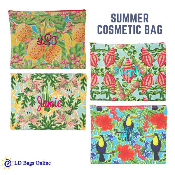 Summer Cosmetic Bag
