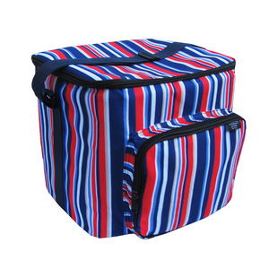 Patriot Stripe Potluck Tote