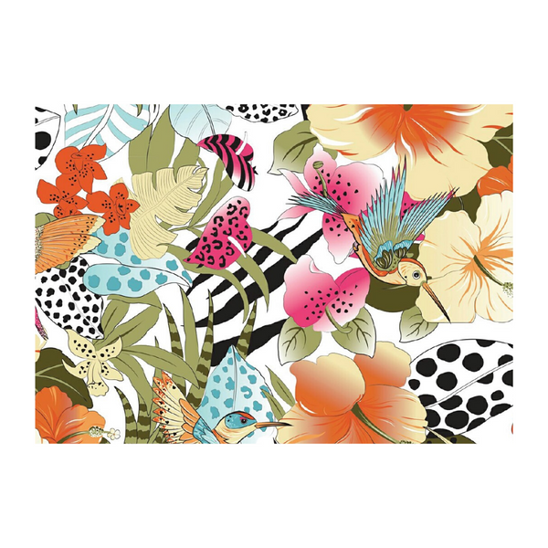 Tropical Love Set of 4 Placemats