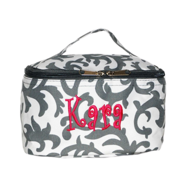 Classic Damask Cosmetic Bag