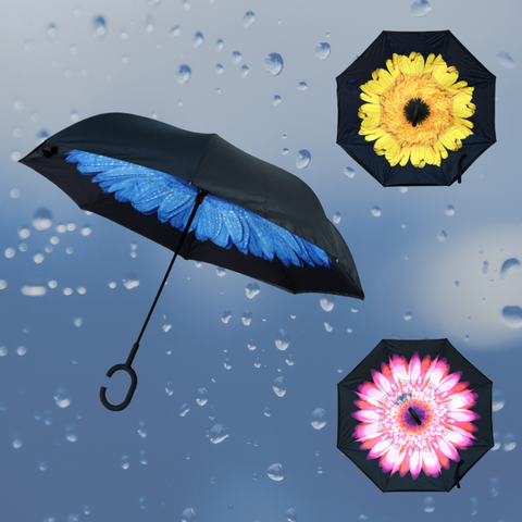 outdoor umbrella, inverted umbrella