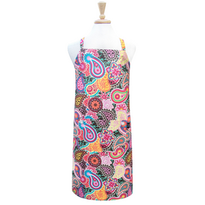 Pink Paisley Medallion Adult Apron