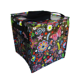 Pop Floral Trunkey Tote