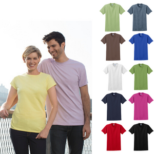 100% Cotton Unisex T-Shirts from Small to 5XL