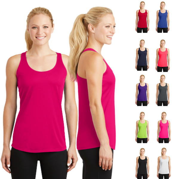 racerback top, tank top, ladies top