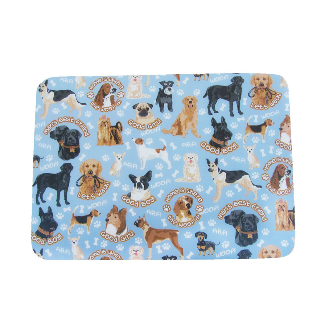 Puppy Set of 4 Placemats