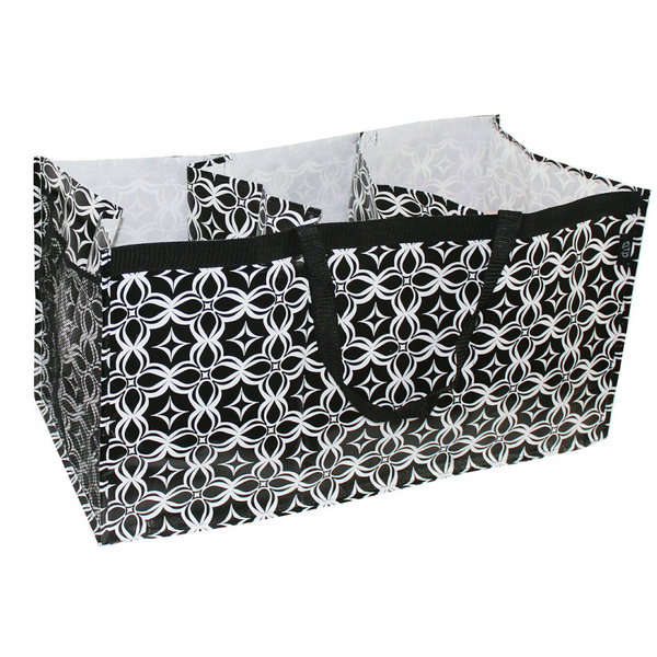 Crazy 8's Three Compartment Trunk Tote