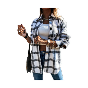 plaid long sleeve, plaid shirt, casual shirt