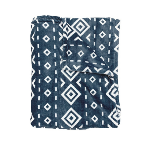 blue blanket, diamond blanket, blanket