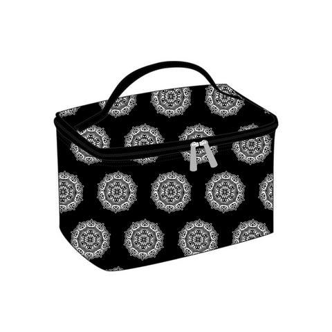 black maddie cosmetic bag